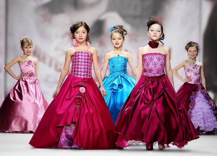 Красивые детские вечерние платья