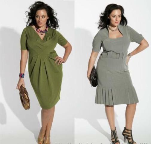 Платье женское для полных
