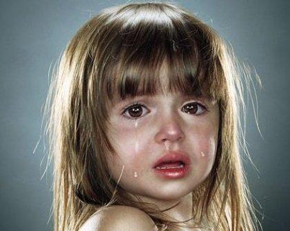 Слезы ребенка - закономерный результат ссор родителей